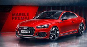 Câștigă o mașină Audi model RS5 Coupe