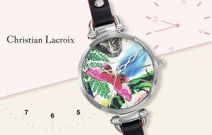 Câștigă un ceas superb, marca Christian Lacroix