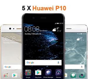Câștigă 5 smartphone-uri Huawei P10