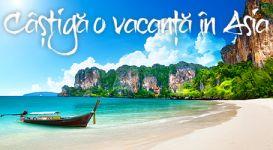 Câștigă o vacanță către orice destinație din Asia și 10 vouchere Kaufland în valoare de 200 lei fiecare