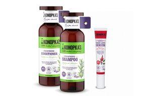 Câștigă un set de cosmetice Dr. Konopka's pentru îngrijirea părului