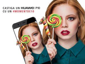 Câștigă un smartphone Huawei P10