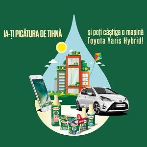 Câștigă o mașină Toyota Yaris Terra Hybrid și 11 smartphone-uri Apple iPhone 7