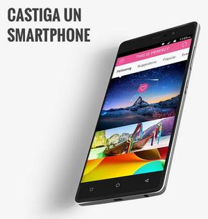 Câștigă un smartphone BLU Vivo 5R Dual SIM 32GB Auriu 3GB RAM