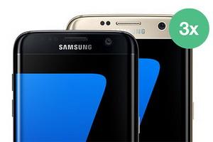 Câștigă 3 smartphone-uri Samsung Galaxy S7 Edge