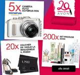 Câștigă 5 aparate foto Olympus, 20 vouchere Il Passo de 1.000 de lei fiecare și 200 seturi cu produse cosmetice AVON