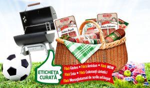 Câștigă 28 coșuri de picnic pline de produse Cris-Tim cu Eticheta Curată
