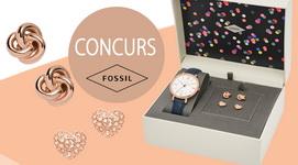 Câștigă un ceas Fossil pentru femei