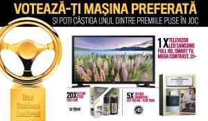 Câștigă un televizor LED Samsung, 5 seturi Antonio Banderas și 20 seturi STR8