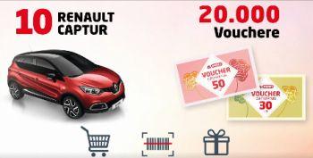 Câștigă 10 mașini Renault Captur