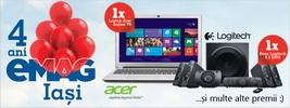 Castiga un laptop Acer Aspire V5 sau un netbook Acer Aspire One