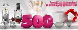 Castiga 500 de cadouri: parfumuri si ochelari de soare Catalin Botezatu