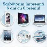 Castiga un iPhone 6, un televizor 3D Philips, un laptop Asus, un iPad Mini, un robot de bucatarie Bosch si un fier de calcat Tefal FreeMove