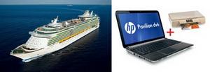 Castiga 3 croaziere pe Marea Mediterana, 3 laptopuri HP pavilion DV6 si 3 imprimante HP Envy 110 e-All-in-One
