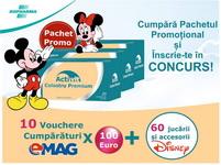 Castiga 10 vouchere eMAG în valoare de 1.000 de euro si 60 de jucarii Disney