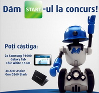 Castiga 4 laptopuri Acer Aspire One D260 si 2 tablete grafice Samsung P1000 Galaxy Tab