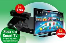 Castiga 10 televizoare Smart TV sau 10 console Xbox One