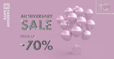 Câștigă 40 vouchere Fashion Days în valoare de 500 lei fiecare