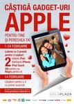 Castiga 2 iPad-uri, 2 iPhone-uri si 2 iPod-uri
