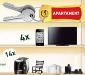 Castiga un apartament, 4 telefoane iPhone 4, 4 televizoare Philips si alte sute de premii