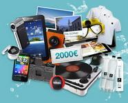 Castiga 2.000 de euro, 2 iPad-uri, 2 tablete Samsung Galaxy Tab, 4 excursii la Vatra Dornei si alte mii de premii