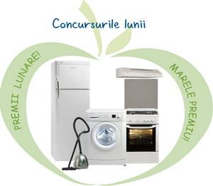 Castiga lunar un frigider, un aragaz si o masina de spalat