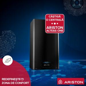 Câștigă 5 centrale termice în condensare Ariston Alteas One