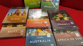 Castiga 8 dvd-uri cu documentare din seria Atlas Discovery
