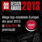 """Concurs """"Auto Bild Design Awards 2013"""": castiga 60 de premii"""