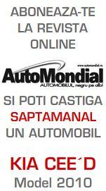 Castiga saptamanal un automobil Kia Pro Ceed model 2010