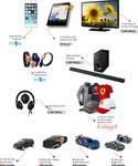 Castiga un iPhone 6, un televizor Samsung, 8 tablete Evolio si multe alte premii