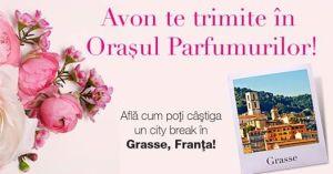Câștigă o vacanță de vis în orașul parfumurilor Grasse, Franța