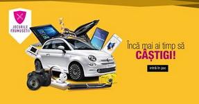 Castiga o masina Fiat 500, un iPhone 6S, un laptop 2in1 ASUS, un aparat foto Canon EOS 700D si alte 19 super premii
