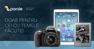 Castiga un iPad Air, un aparat foto Nikon D3300, un ebook reader Kindle sau 3 x 300 de lei
