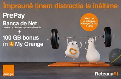 Banca de Net: dăruiești și primești net mobil Orange