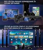Castiga 2 televizoare Samsung Smart TV, o tableta Samsung Galaxy Tab si 2 smartphone-uri Samsung