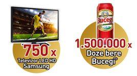 Castiga 750 televizoare Samsung si 1.500.000 doze bere Bucegi