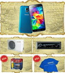 Castiga un smartphone Samsung Galaxy S5