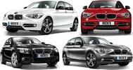 Castiga 4 masini BMW Seria 1