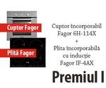 Castiga un set incorporabile Fagor (cuptor + plita), un set de oale Fagor si 2 mixere Fagor