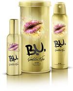 Castiga saptamanal un set de cosmetice B.U. Golden Kiss