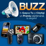 Castiga un smartphone Samsung Galaxy Y, o tableta Info Touch, un aparat foto Canon sau alte 3 premii