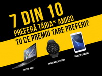 Castiga 9 laptopuri 2in1 Lenovo Yoga, 47 ceasuri smartwatch Vector Luna si 94 tablete Samsung Galaxy Tab A T280