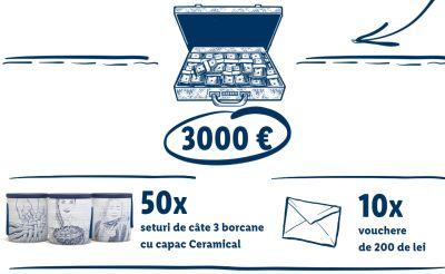 Câștigă 3.000 de euro cu produsele Cămara Noastră