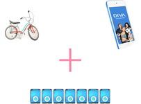 Castiga o bicicleta Pegas, un iPod Touch si 14 pedometre