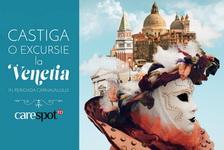 Castiga o excursie la Carnavalul din Venetia