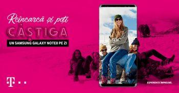 Câștigă zilnic un smartphone Samsung Galaxy Note8
