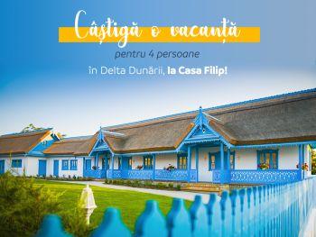 Câștigă o vacanță în Delta Dunării