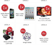 Castiga un iPhone 4S, un iPad 2, un televizor lcd Philips si 3 aparate foto Nikon Coolpix L25R