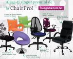 Castiga un scaun de birou sau un fotoliu de relaxare